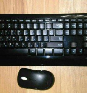 Комплект беспроводная клавиатура+мышь