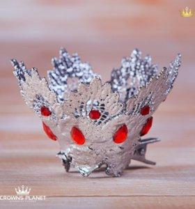 Заколка корона маленькая