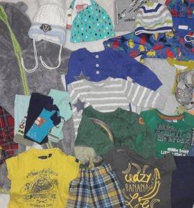 Пакет одежды и обуви 68-74 см.