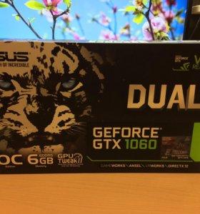 Игровая видеокарта Asus OC GTX 1060 6Gb GDDR5