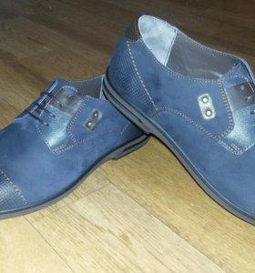 Benito Bergo Италия новые туфли кожа