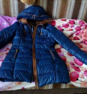 Куртка зимняя теплая торг
