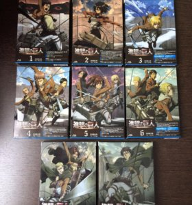 Attack on titan Blu-ray Limited edition