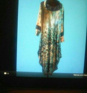 Платье турция шелк с вескозой 58\60