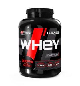 Сывороточный WHEY протеин 2000 гр / 60 порций