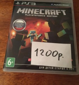 Minecraft PlayStation Edition игра на PS3