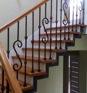 Лестница, Перила