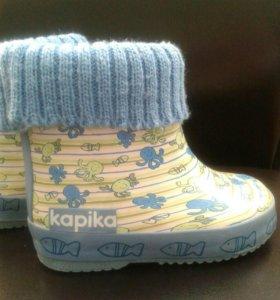Сапоги резиновые Kapika 21 размер
