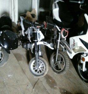 Продам или обменяю скутер,минибайки все 50куб.