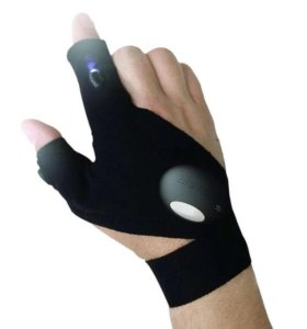 Новая светодиодная перчатка