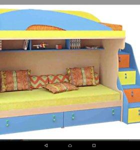 Двухъярусная кровать МИА Softform