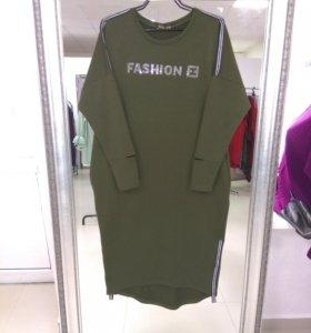 Платье Дама футер XL