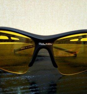 Очки желтые защитные