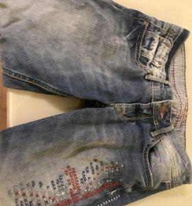 Абсолютно новые джинсы 3/4 Pepe jeans возможенторг