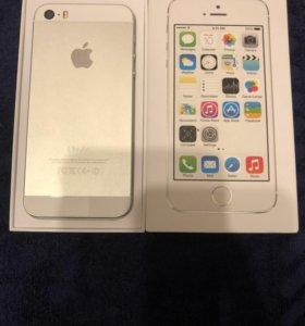 iPhone 5 16 gb silver