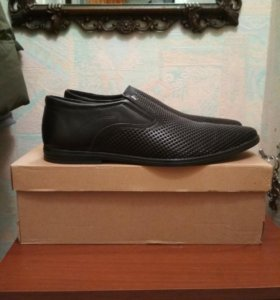 Туфли новые из натуральной кожи Maks line
