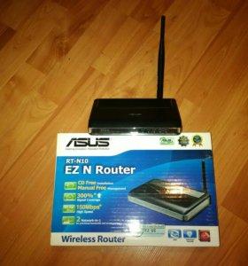 Asus RT-N10 с усиленной антенной