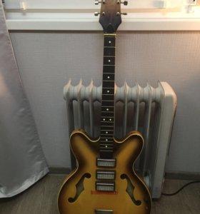 Советская раритетная электро-гитара
