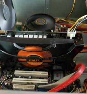 Бюджетный игровой intel 4 ядра/550ti/4gb