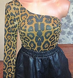 Стильная кофта-платье +шорты🐾
