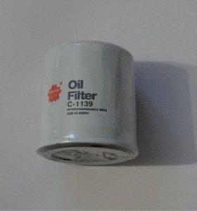Фильтр масляный Sakura C-1139 новый