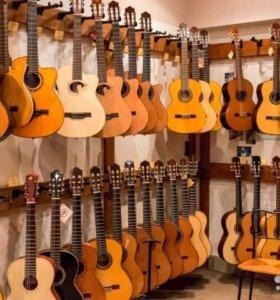 Классическая и акустическая гитара Prado Nat 38