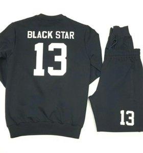 Черный спортивный костюм BLACK STAR 13
