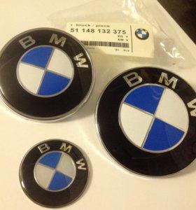 Эмблемма BMW 82мм/74мм/44мм