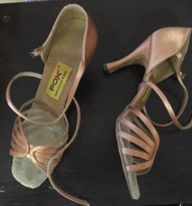Туфли танцевальные бальные латина