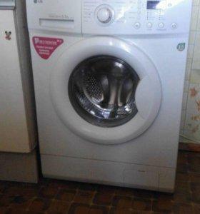Бюжджетная стиральная машинка LG