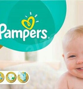 Pampers premium care подгузники