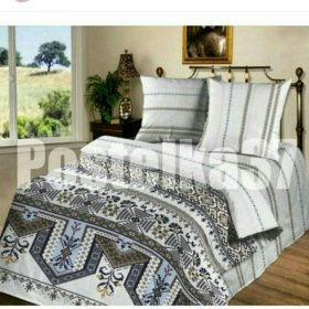 Комплект постельного белья 2-х сп с европростыней