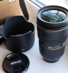 Nikon Nikkor AF-S 24-70mm f2.8G ED