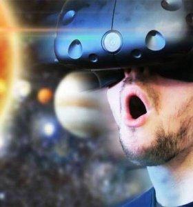Виртуальный шлем HTC Vive