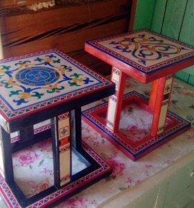 Якутские маленькие стулья
