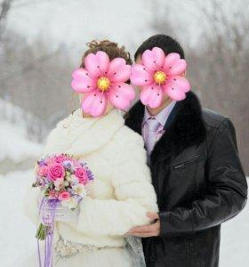 Полушубок для невесты (шуба)