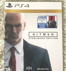 Игра на PS4 Hitman SteelBook Edition