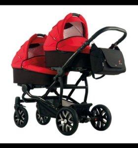 Детская коляска для двойни Bebetto