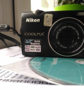 Nikon Coolpix S5100, 12,2MPix, 5xZoom