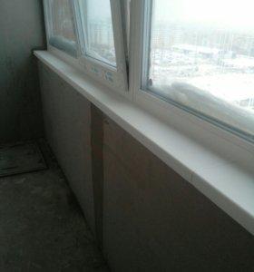 ремонт окон балконов лоджи  пвх.  установка жалюзи