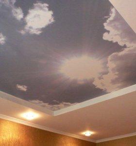 Натяжной потолок l324