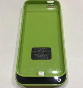 Чехол-аккумулятор на Apple iPhone 5C