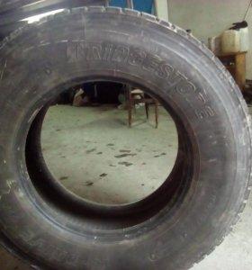 Колеса Бриджстоун грузовые ведущие на тягач