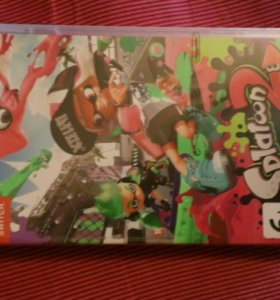 Новая игра Splatoon 2 для Nintendo switch