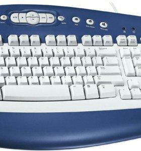 Microsoft MultiMedia Keyboard 1.0a KB-0168