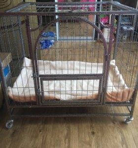 Клетка для собаки 84*62*93