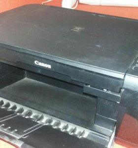 МФУ цветной Canon MP280 принтер копир сканер