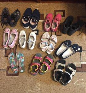 Обувь на девочку 32,34,35,36,37