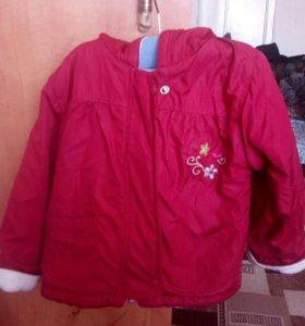Куртка на девочку, демисезон