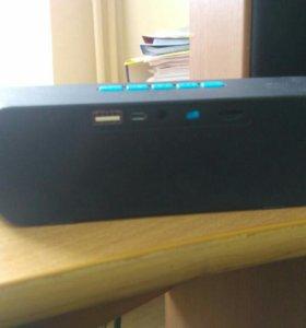 Мобильная портативная звуковая колонка BT speaker